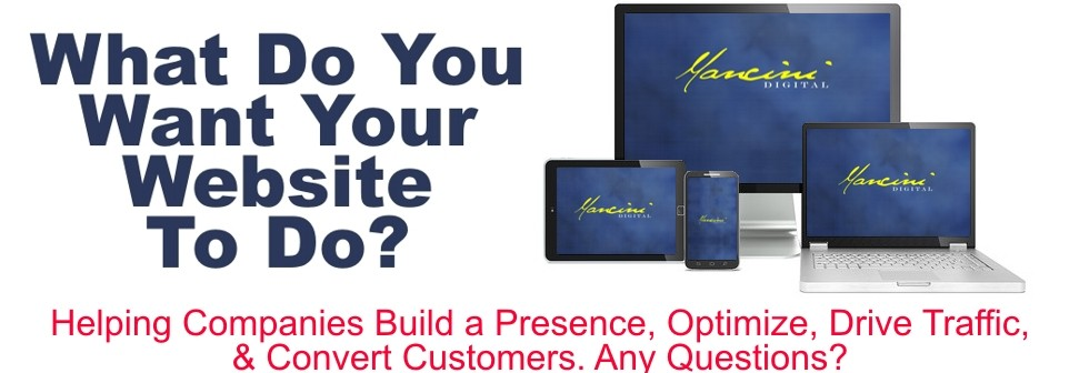 Build, Optimize, Drive Traffic, Convert Customers