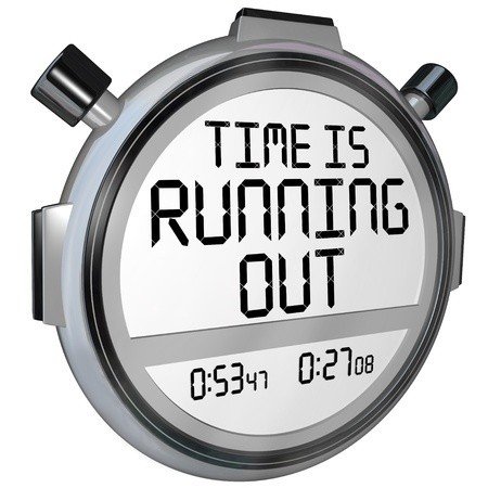 Blog Challenge - Running Out of Time