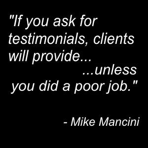 Testimonial Quote