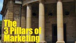 The 3 Pillars of Marketing