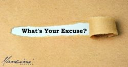 What's Your Marketing Excuse